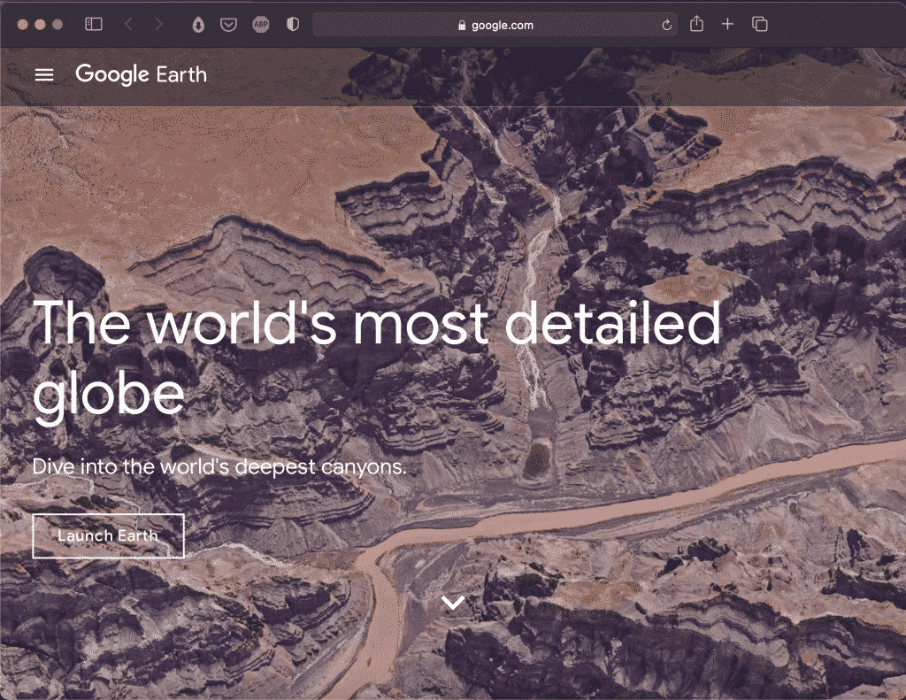 Google Earth   The World's Most Detailed Globe   Abakcus