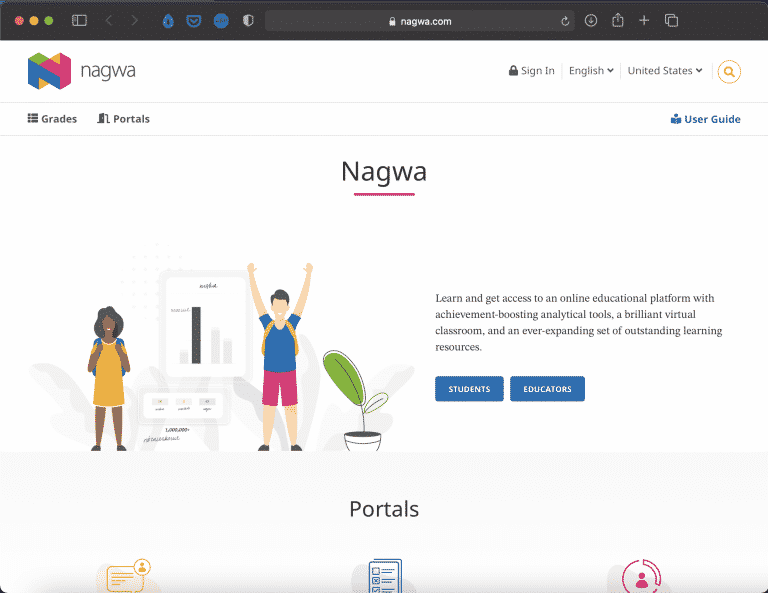 Nagwa | Sources for Students & Parents | Abakcus