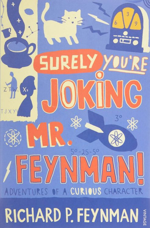Surely You're Joking, Mr Feynman | Math & Science Books | Abakcus