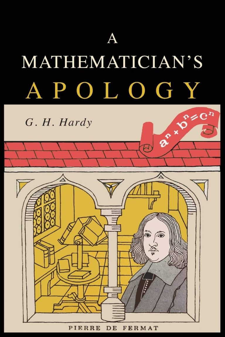 A Mathematician's Apology by G. H. Hardy | Math Books | Abakcus