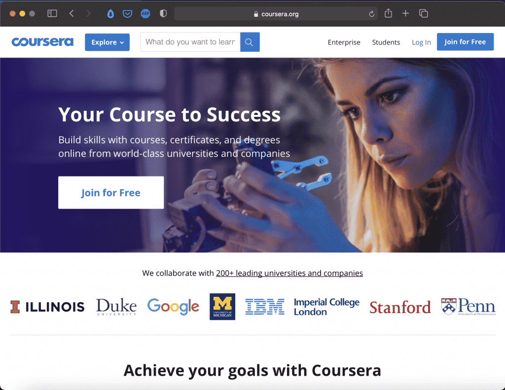 Coursera | Online Free Courses for Learning | Abakcus