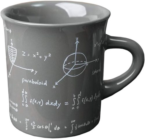 Fishs Eddy Math Equations Coffee and Tea Ceramic Mug