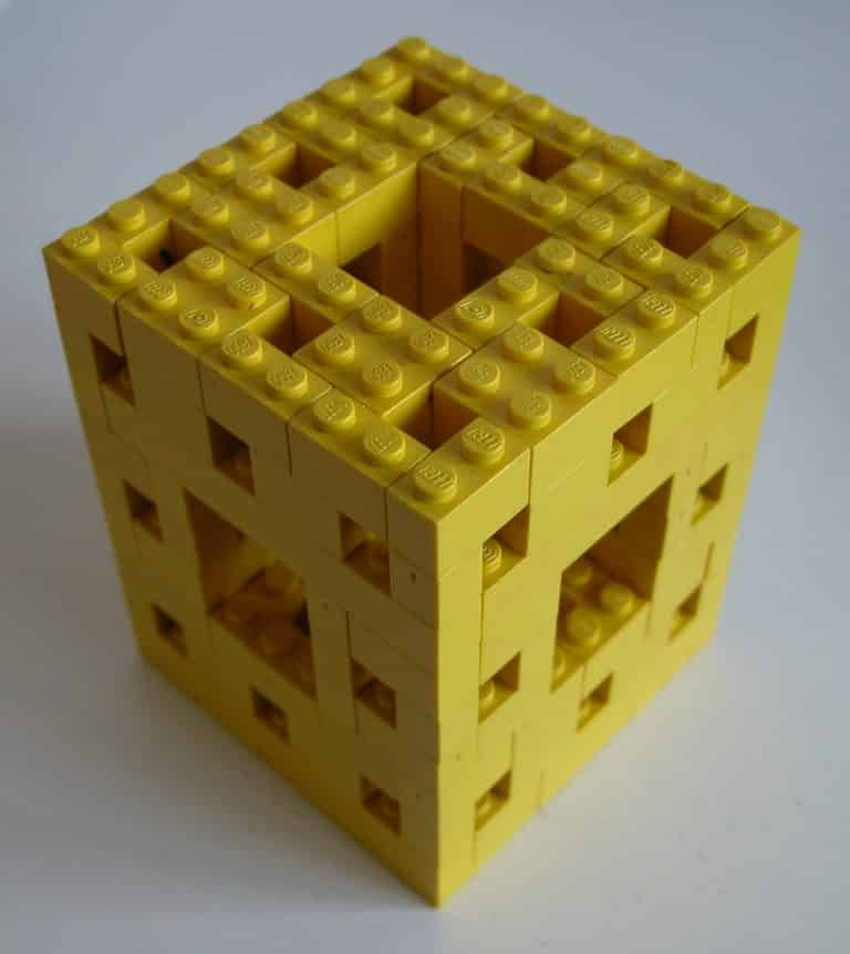 How to Make Lego Menger Sponge? | DIY Project | Abakcus