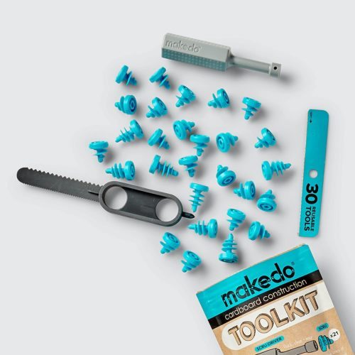 Makedo Cardboard Construction Toolkit