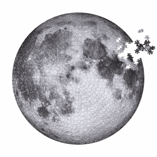 The Moon Jigsaw Puzzle