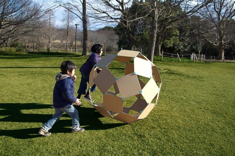 How to Make Giant Cardboard Windball | Math Project | Abakcus