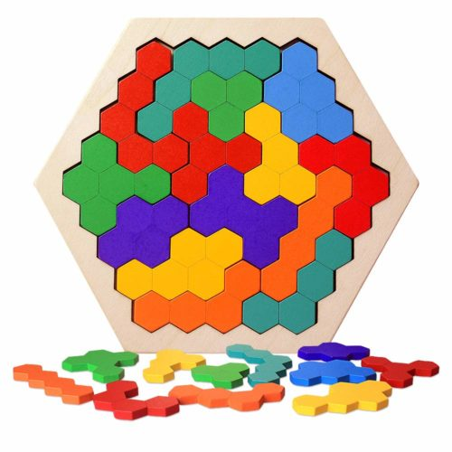 Wooden Hexagon Puzzle