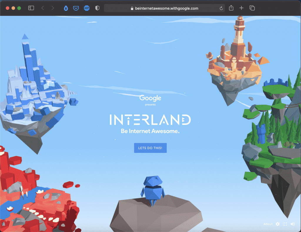Interland: Be Internet Awesome | Digital Safety for Kids | Tools | Abakcus