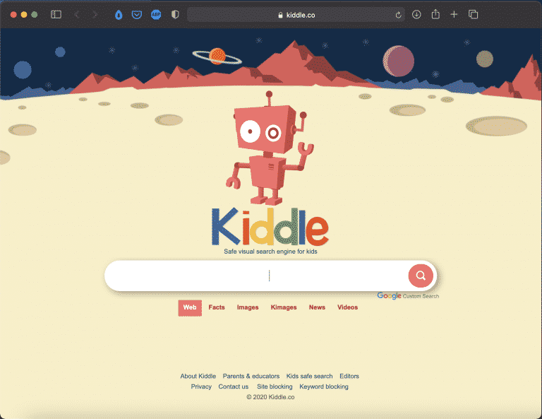Kiddle | Visual Search Engine for Kids | Tools | Abakcus