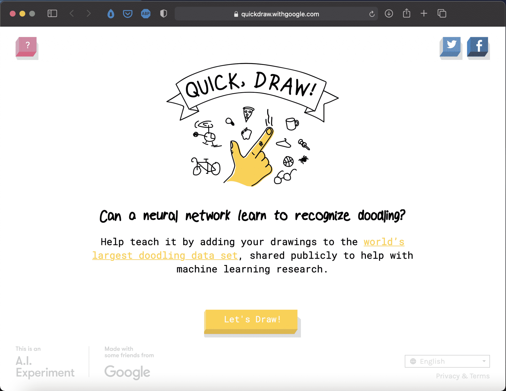 Quick, Draw! | Online Drawing Game by Google | Abakcus