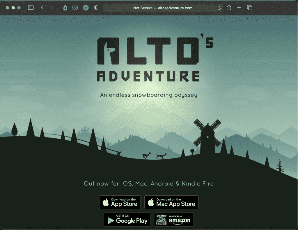 Alto's Adventure | A Beautiful Indie Game | Abakcus