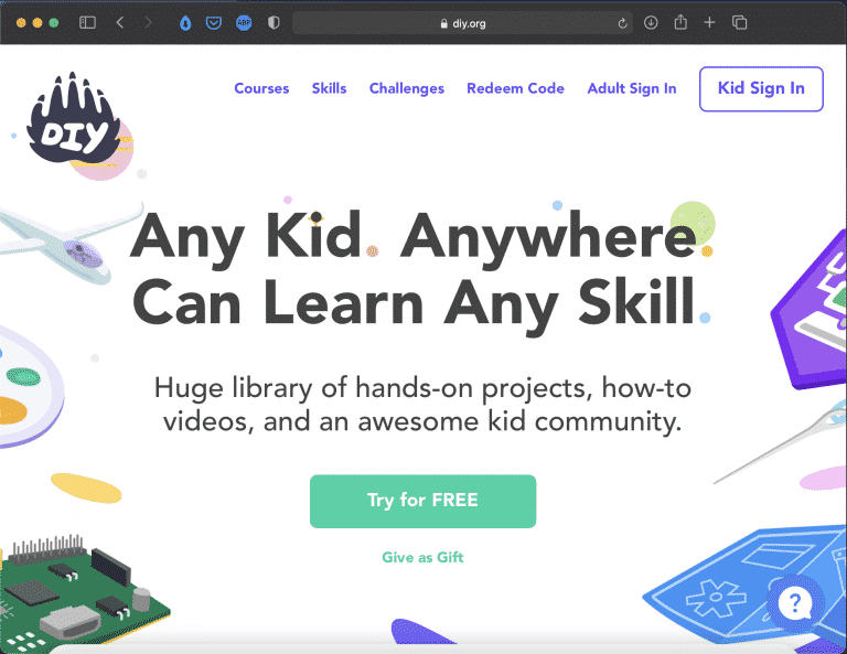 DIY.org | Online Courses and Fun Projects for Kids | Abakcus