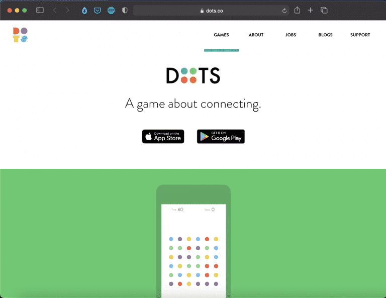Dots: A Game About Connecting   Indie Game   Abakcus
