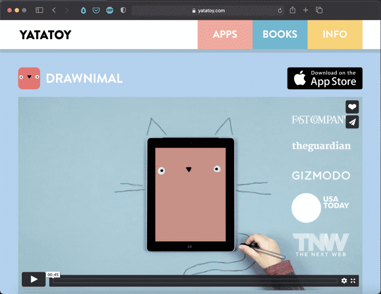 Drawnimal by YATATOY| Beautiful Tools for Kids | Abakcus
