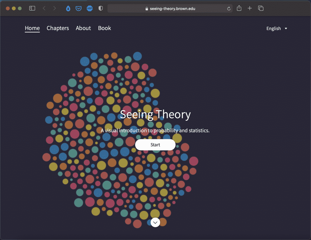 Seeing Theory: A Visual Introduction to Probability and Statistics | Abakcus