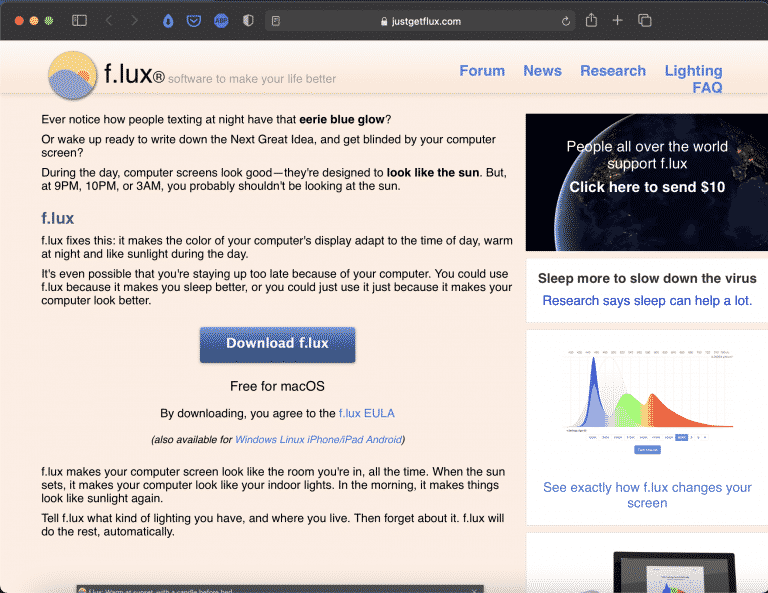 f.lux   A Beautiful Software to Make Your Life Better   Abakcus