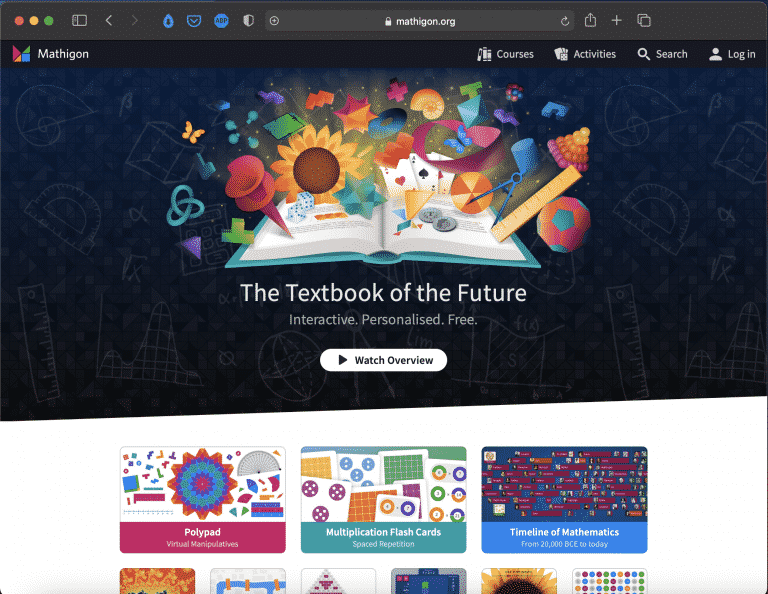 Mathigon – Textbook of the Future | Maths Tools | Abakcus