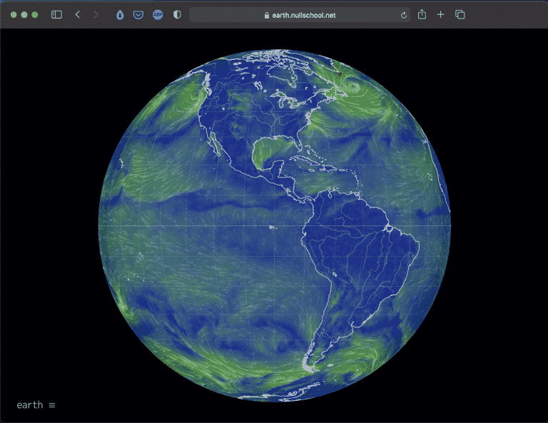 Earth Nullschool | A Visualization of Global Weather Tool | Abakcus