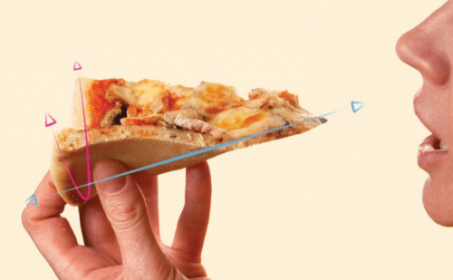 How a 19th Century Math Genius Taught Us the Best Way to Hold a Pizza Slice