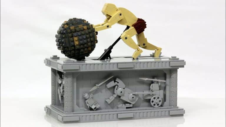 Sisyphus LEGO Kinetic Sculpture
