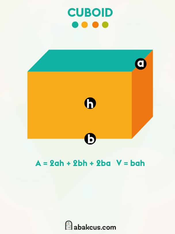 Surface Area and Volume of a Cuboid
