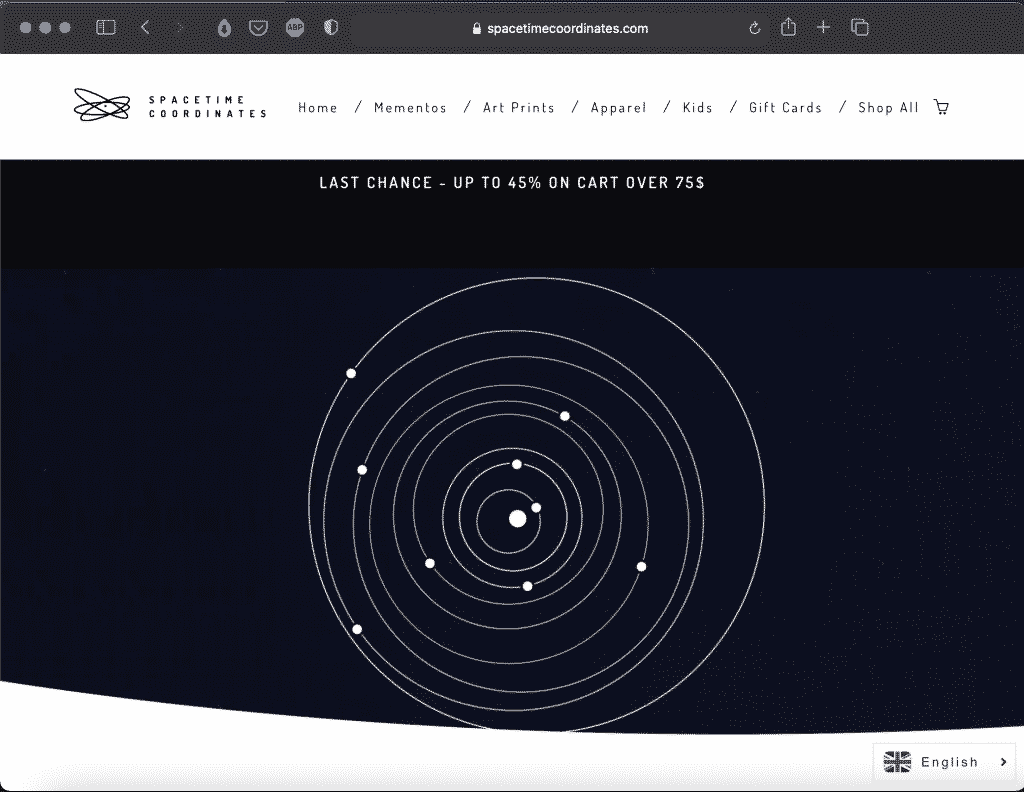 The Spacetime Project: Space Coordinates   Tools   Abakcus