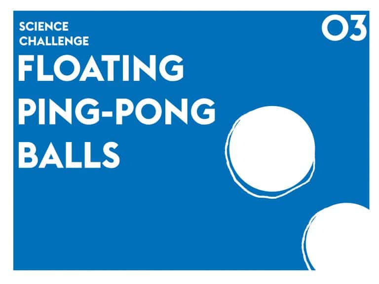 Floating Ping-Pong Balls Dyson Science DIY Project