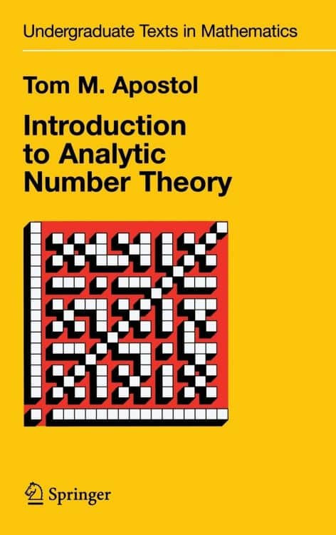 Introduction to Analytic Number Theory Springer