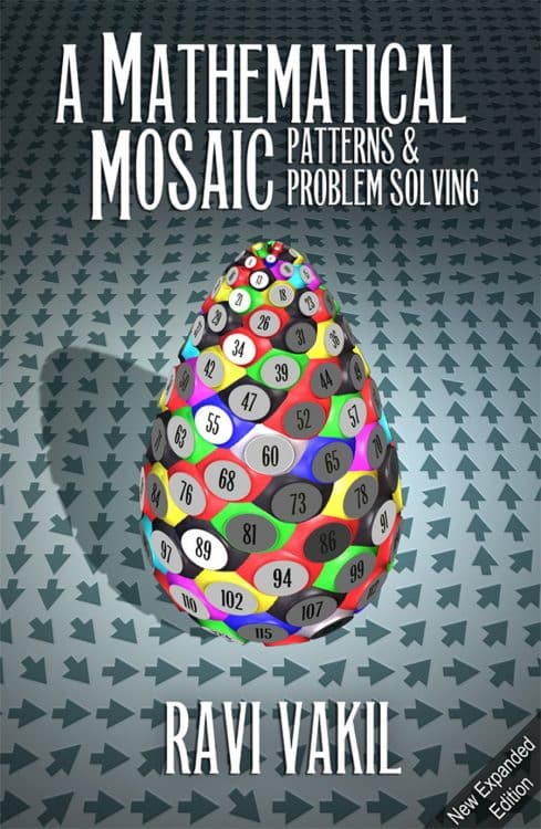 A Mathematical Mosaic by Ravi Vakil | Math Books | Abakcus