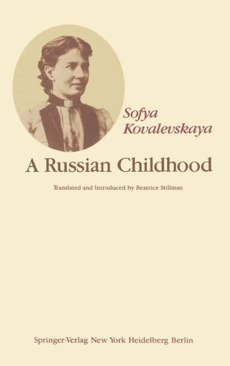 A Russian Childhood by Sofya Kovalevskaya | Math Books | Abakcus