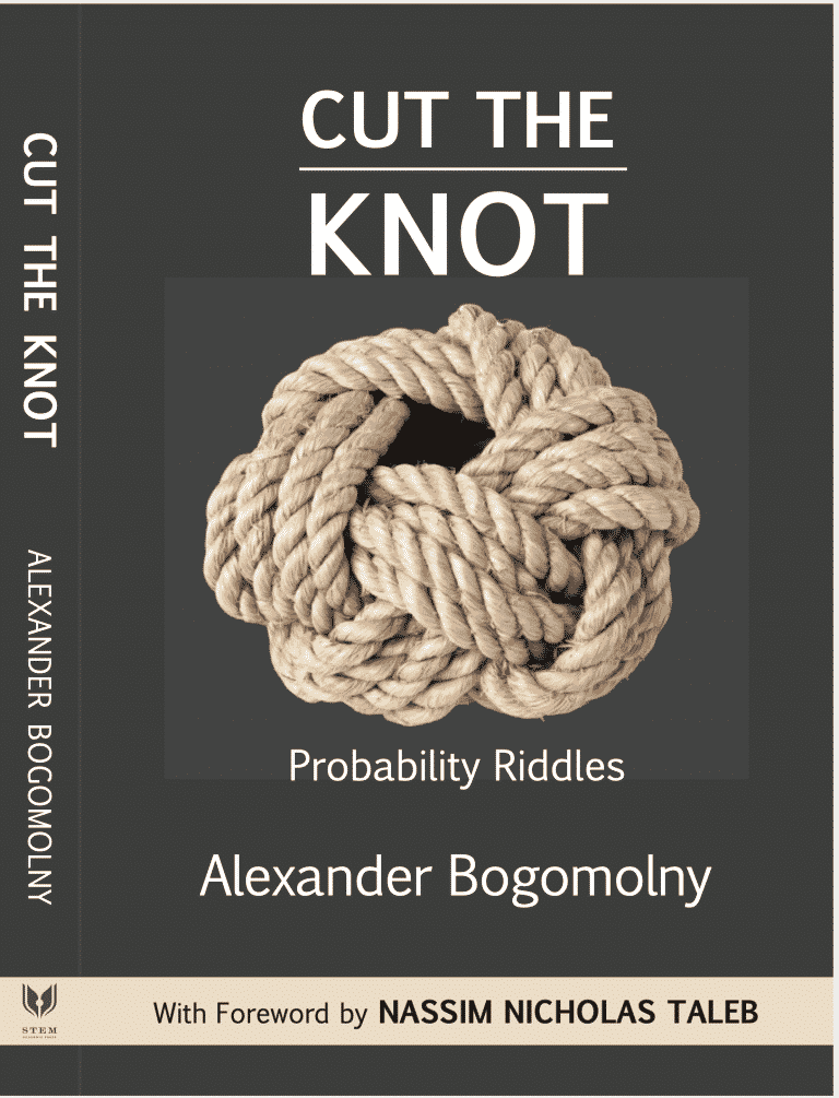 Cut the Knot: Probability Riddles by Alexander Bogomolny | Math Books | Abakcus