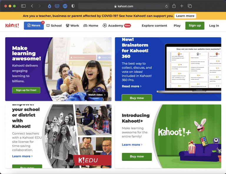 Kahoot | Websites for Teaching and Learning | Abakcus