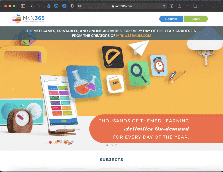 Mr.N365 | Websites for Teaching and Learning | Abakcus