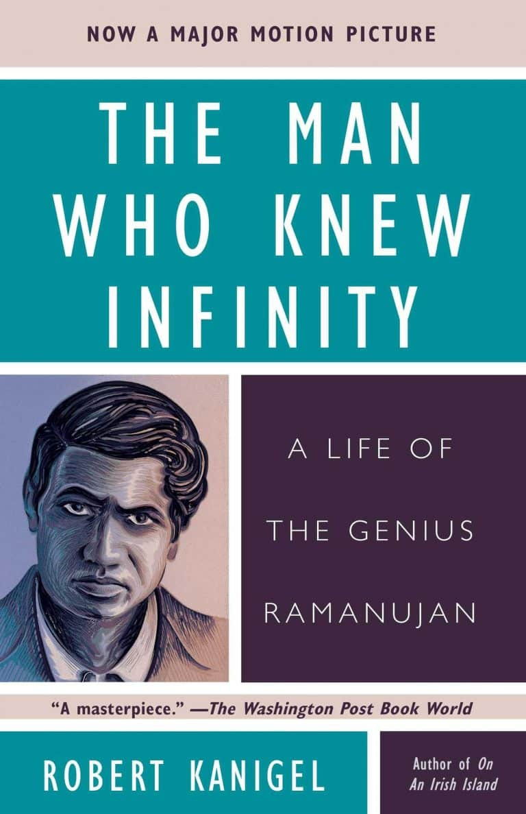 The Man Who Knew Infinity by R. Kanigel | Math Books | Abakcus