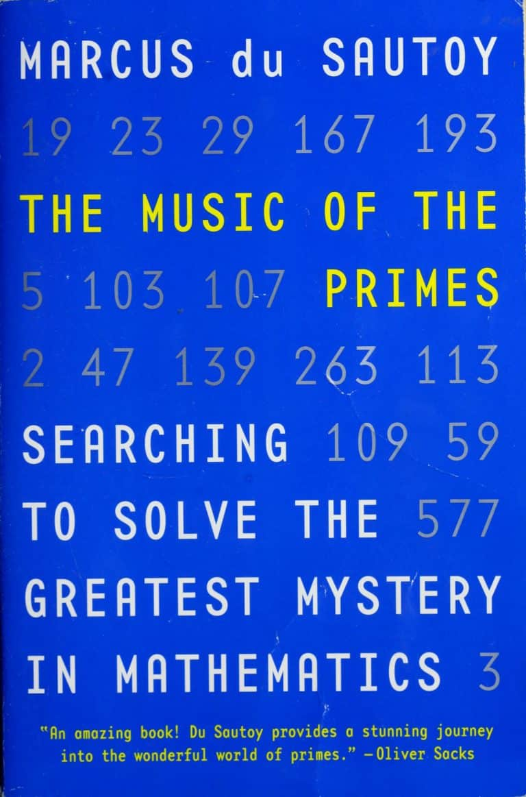 The Music of the Primes by Marcus du Sautoy | Math Books | Abakcus