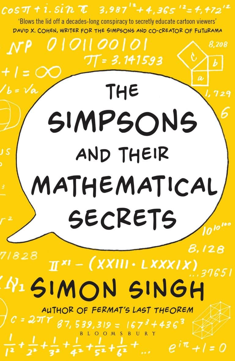The Simpsons and Their Mathematical Secrets by Simon Singh| Math Books | Abakcus