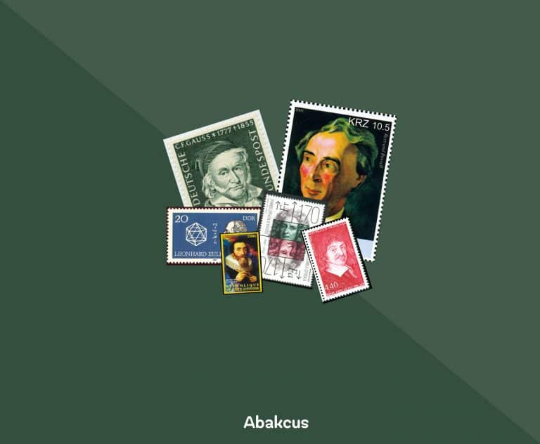436 Beautiful Postage Stamps of Mathematicians and Scientists | Abakcus