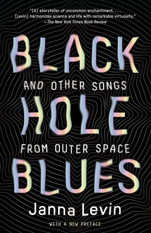 Black Hole Blues by Janna Levin | Math Books | Abakcus
