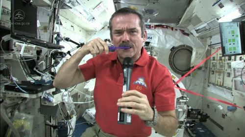 How to Brush Your Teeth in Space | Video | Abakcus