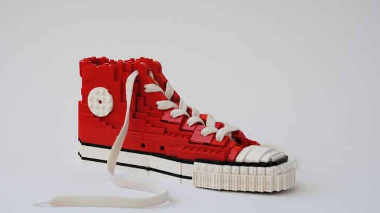 LEGO Life-size Sneaker | Build Your Own Iconic Sneaker Out of LEGO