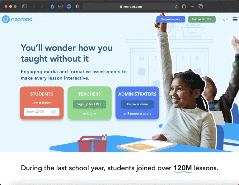Nearpod | Make Every Lesson Interactive | Abakcus