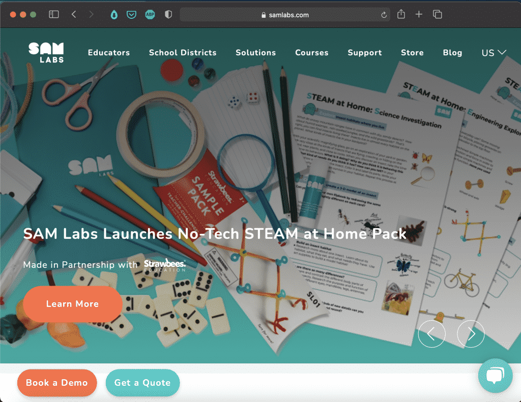 SAM Labs   Hands-on Construction Tools for Kids   Abakcus