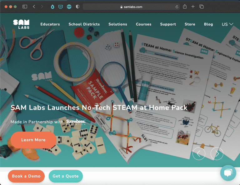 SAM Labs | Hands-on Construction Tools for Kids | Abakcus