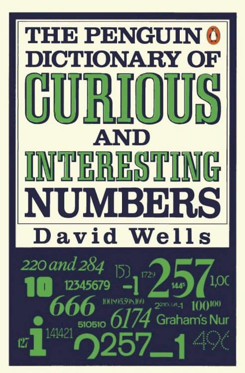 The Penguin Dictionary of Curious and Interesting Numbers D. Wells | Math Books | Abakcus