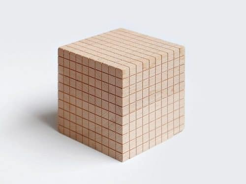 Wooden Grid Cube | Beautiful Gift Idea | Gadget | Abakcus