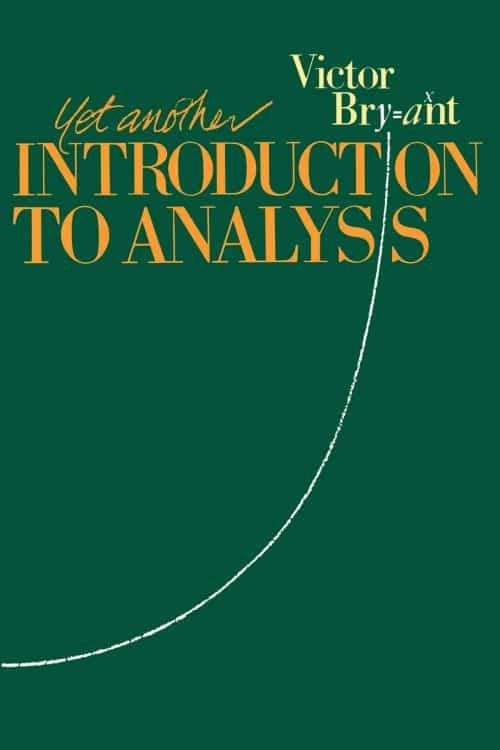 Yet Another Introduction to Analysis V. Bryant | Math Books | Abakcus