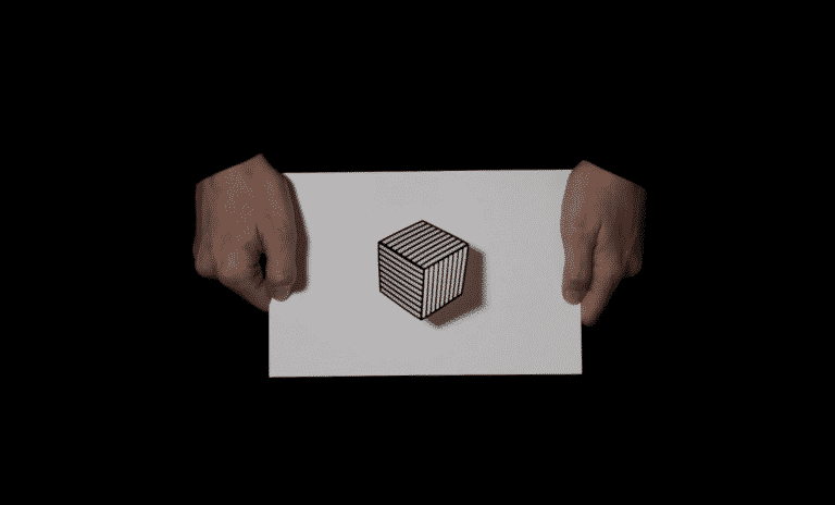 Floating Cube from Some All None | Beautiful Illusion Video | Abakcus