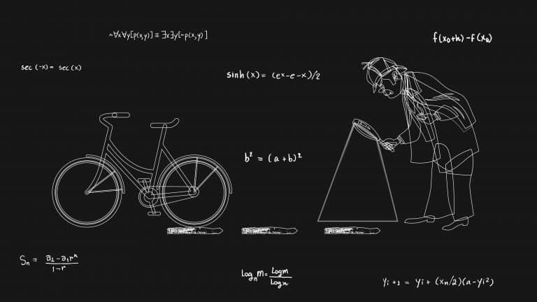 Sherlock Holmes' Most Difficult Math Problem Bicycle Tracks