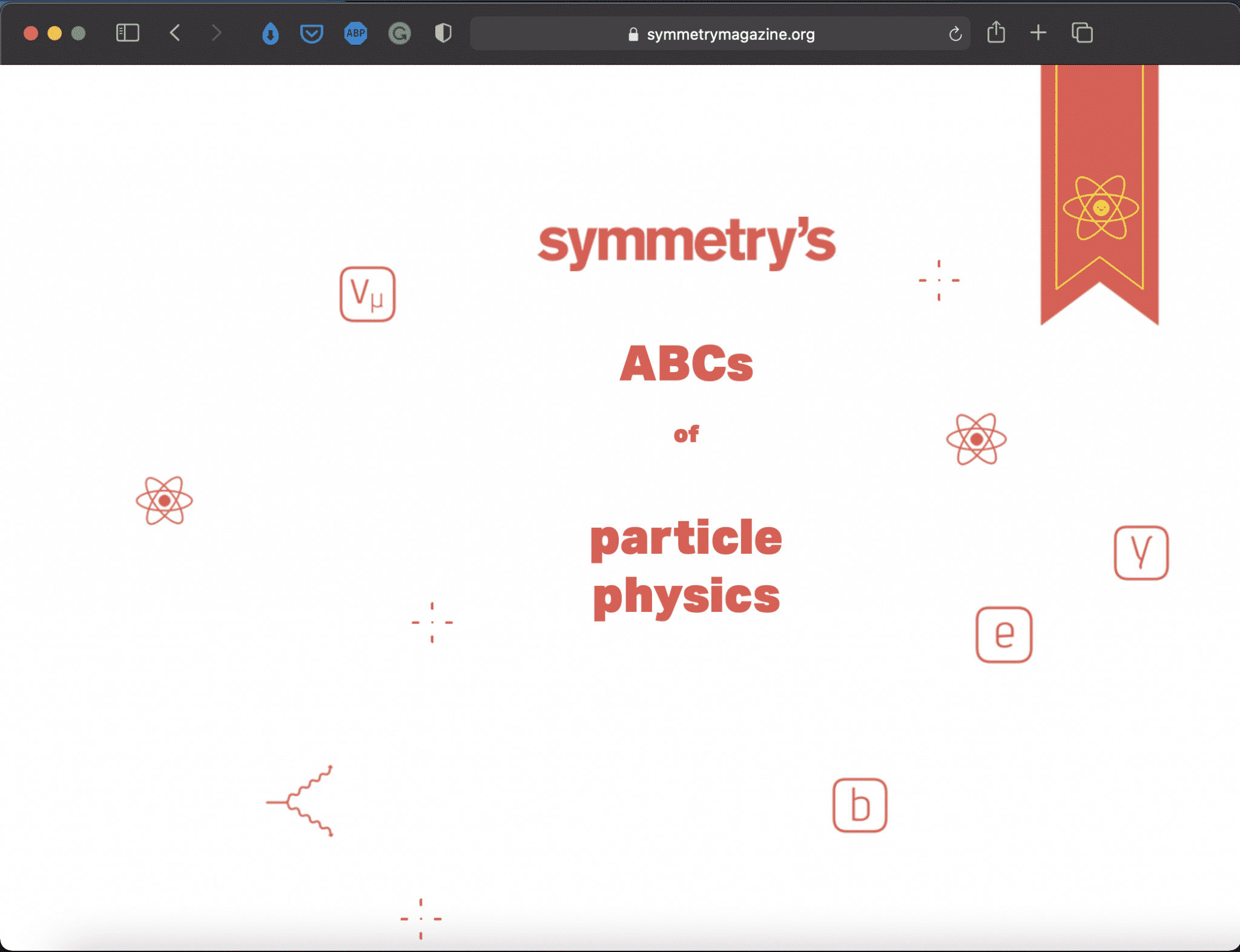 ABCs of Particle Physics | Interactive Physics Tool | Abakcus