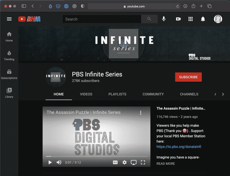 PBS Infinite Series   Best Math Youtube Channel   Abakcus